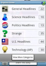 Express News Android App Review