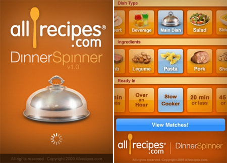 Allrecipes com dinner spinner