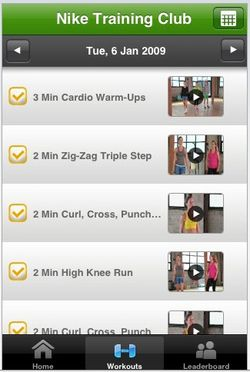 Nike Training Club App for iPhone Review