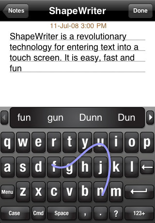 ShapeWriter Android App Review