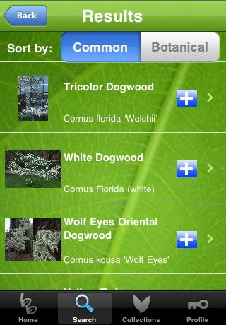Get a Walking Reference Guide with Botany Buddy App for iPhone