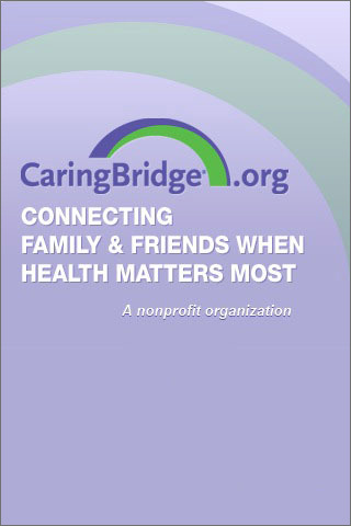 Stay connected when it matters most with CaringBridge App for iPhone