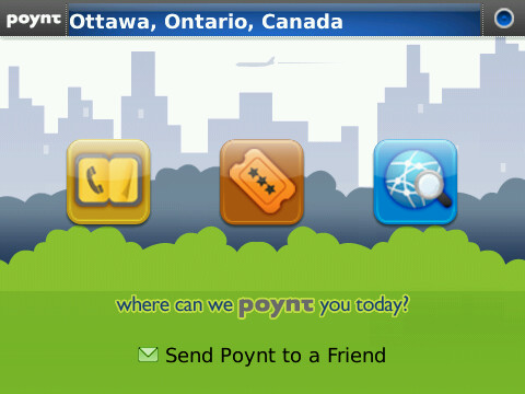 Push your GPS to the max with Poynt App for BlackBerry