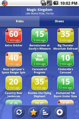 Find out how long it takes with Ride Hopper Lite app for Android