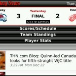 Keep up to speed on everything in the NHL with The Hockey News app for BlackBerry