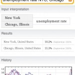 iPhone Wolfram Alpha app