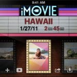 iMovie Video Editing App for iPhone