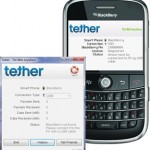 Tether App for Blackberry