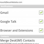 Desk SMS App for Android Review