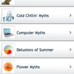 Myths and Facts App for iPhone