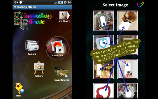 Photoshop Effects Photo Editor App for Android