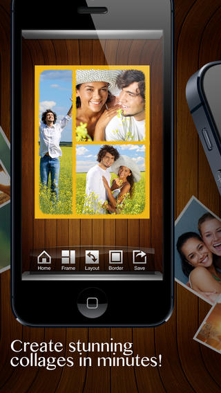 Nostalgio Photo Collage Maker App for iPhone