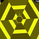 Super Hexagon App for iPhone