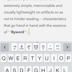 Byword App for iPhone Review