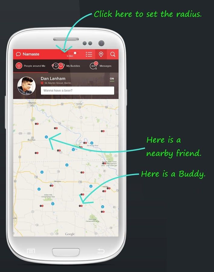 Namaste App for Android Review