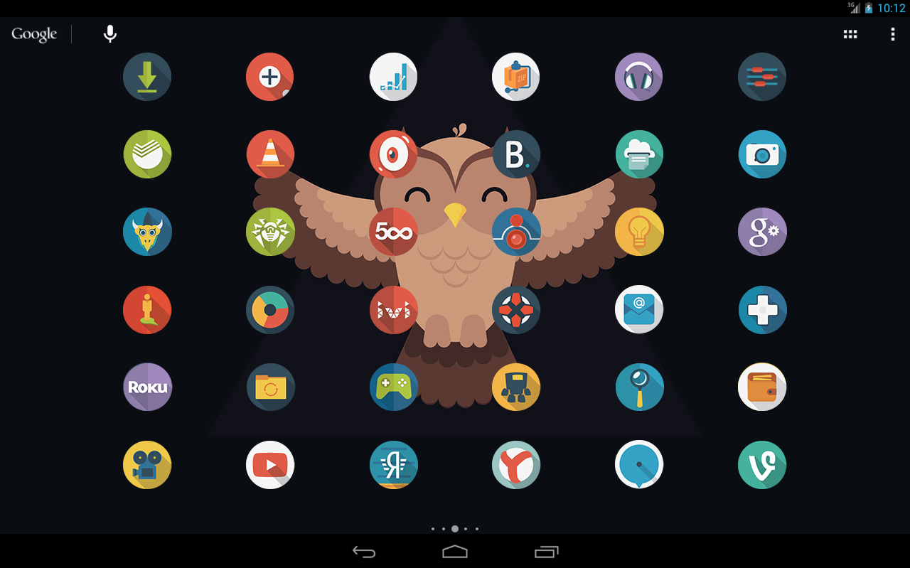 Owl – Icon Pack App for Android Review