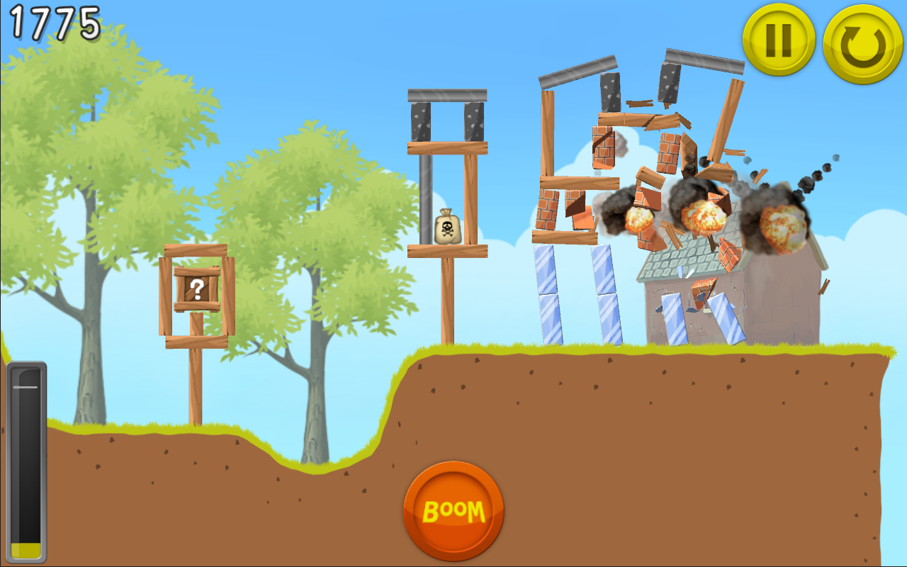 Boom Land Game App for Android