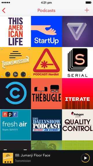 Pocket Casts App for iPhone