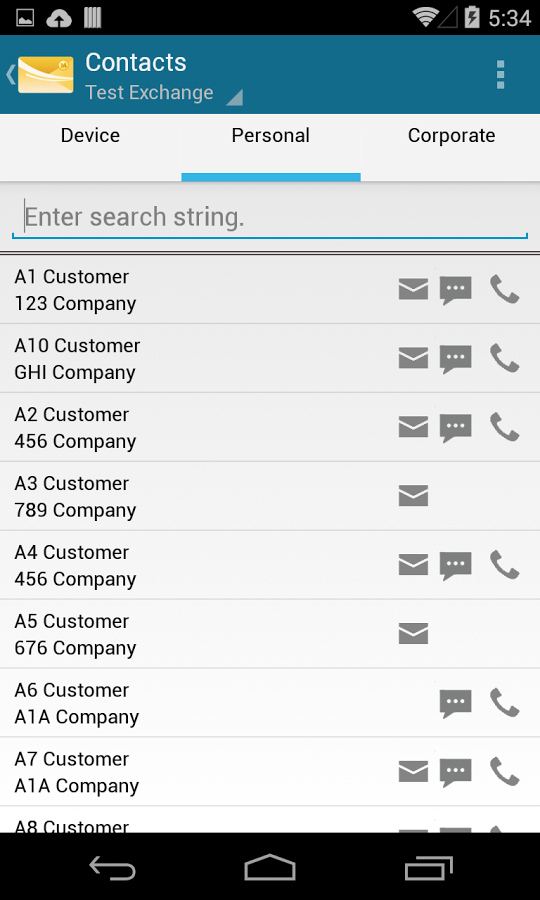 MobiMail for Outlook Email Android App
