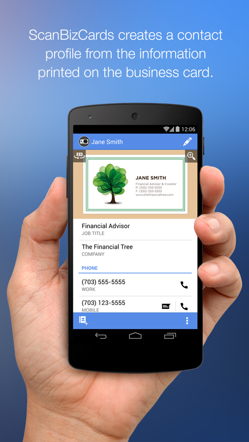 ScanBizCards Premium Android App