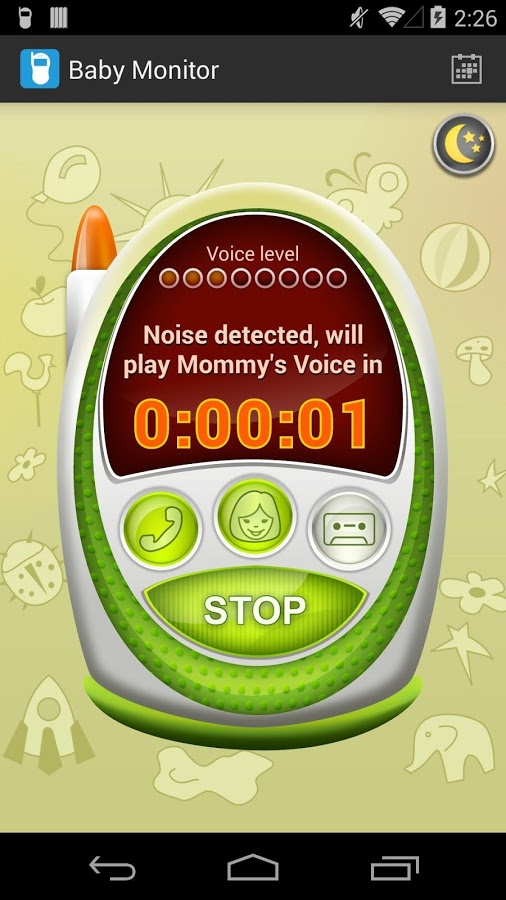 baby monitor alarm android app review. Black Bedroom Furniture Sets. Home Design Ideas