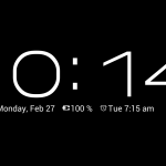 Dock Clock Plus Android App Review