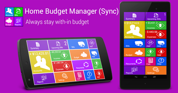 Home Budget Manager Android App Review
