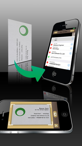 SamCard Pro iPhone App Review