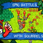 SquirrelWarz iPhone Game App Review