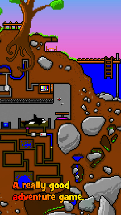 little-caves-the-legend-of-princess-pixel-iphone-game-app