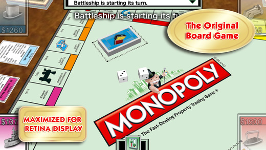 MONOPOLY Game for iPhone Review