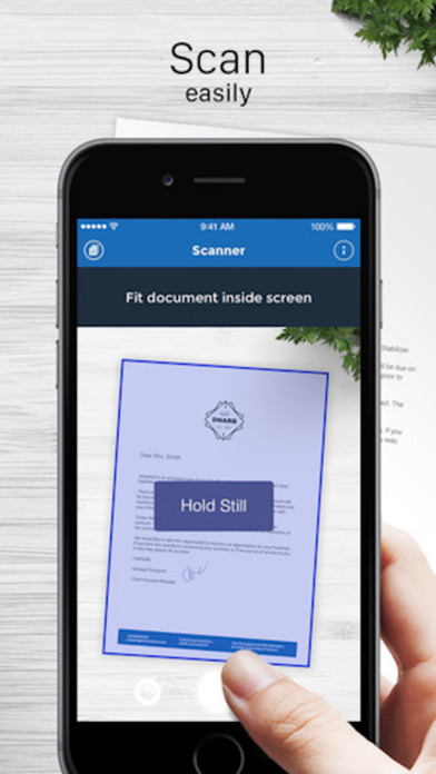 iScanner for Me PDF Document Scanner iPhone App Review