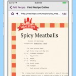 MealPlan Meal and Grocery Planner iPhone App Review