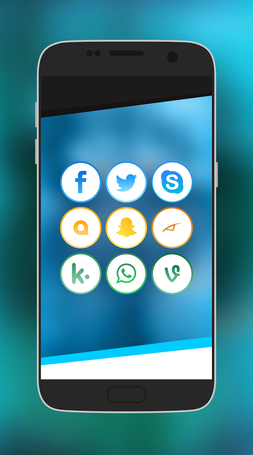 Infinite - Modern Icon Pack Android App Review