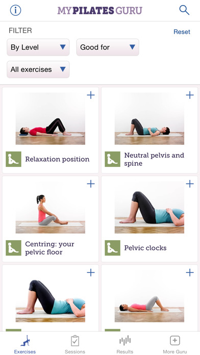 My Pilates Guru app for iPhone Review