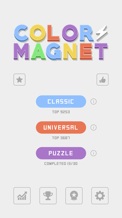 Color Magnet iPhone Game App Review