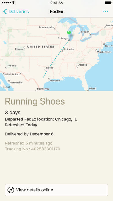 Deliveries Package Tracker iPhone App Review