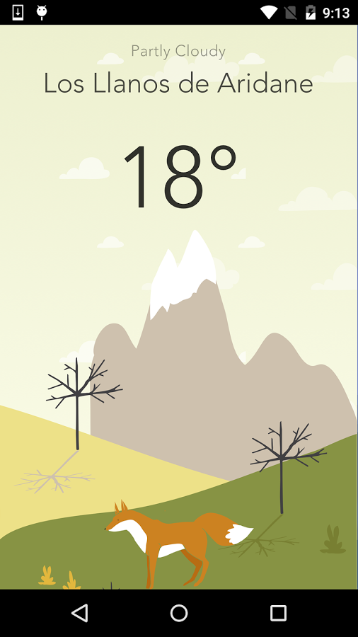 Wild Weather app for Android Review