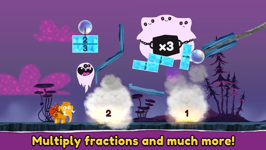 Slice Fractions 2 iPhone App Review