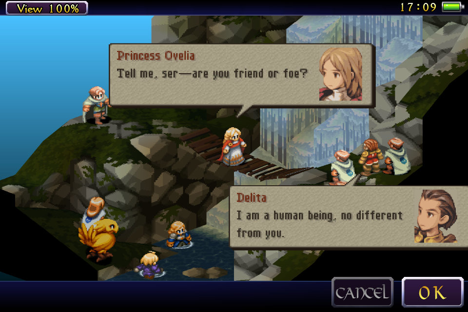 Final Fantasy Tactics WotL Android Game App Review