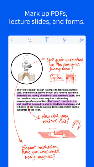 Notability Easy Note-Taking iPhone App Review