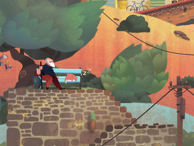 Old Mans Journey iPhone Game App Review