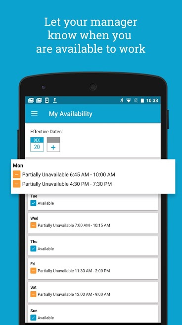 HotSchedules Employee Scheduling Android App Review
