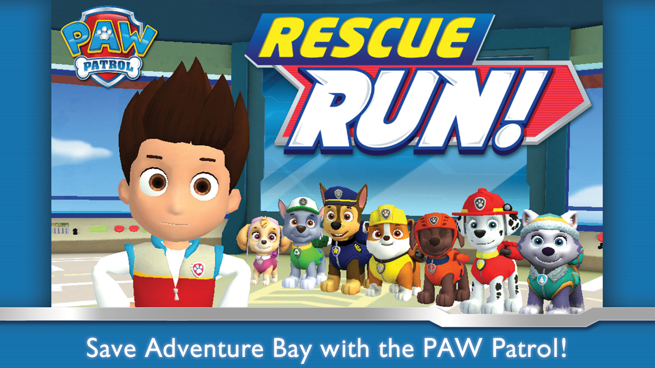 PAW Patrol Rescue Run Android App