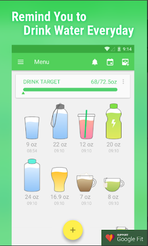 Water Drink Reminder Pro Android App Review