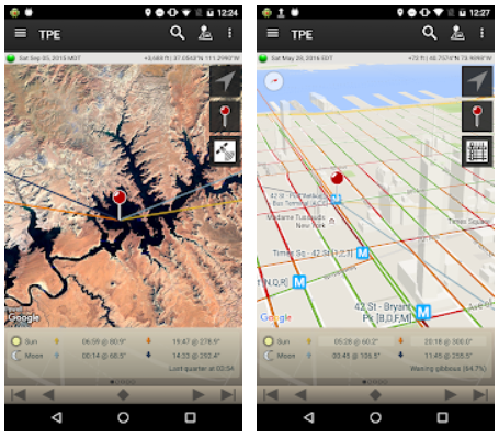 The Photographers Ephemeris Android App Review