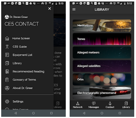 CE5 Contact Android App Review