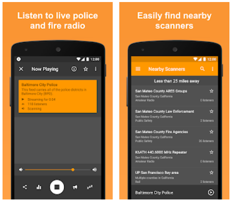 Scanner Radio Pro Android App Review