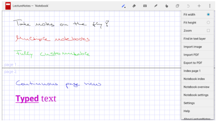 LectureNotes Android App Review