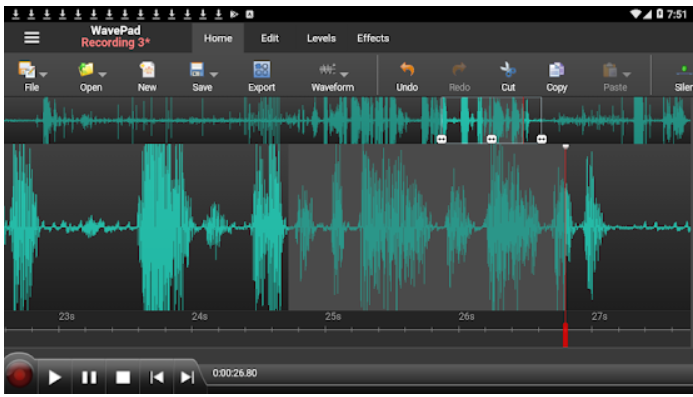 WavePad Audio Editor Free Android App Review